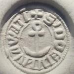 Abdruck, Petschaft eines Cäpt'n aus Mühlwatt mit Ankerdarstellung