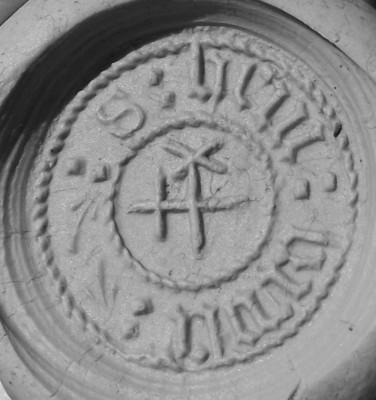 mittelalterliches Petschaft des Hein Krase (Lesung unter Vorbehalt) 15./16.Jh.