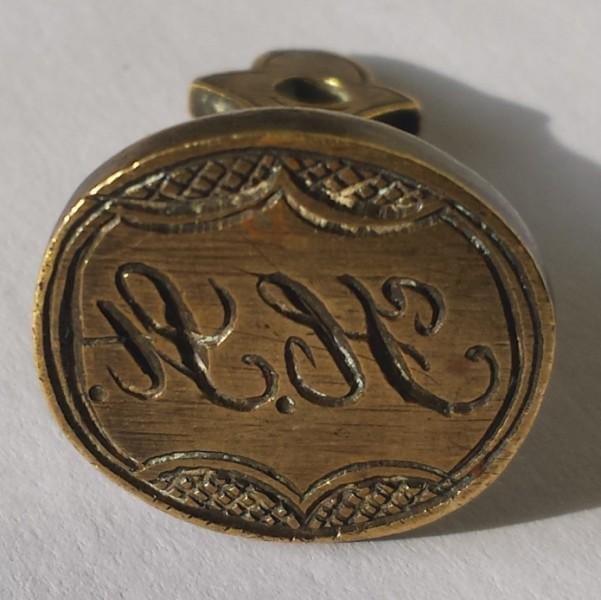 seltene Petschaft-Variante mit Datum 1889