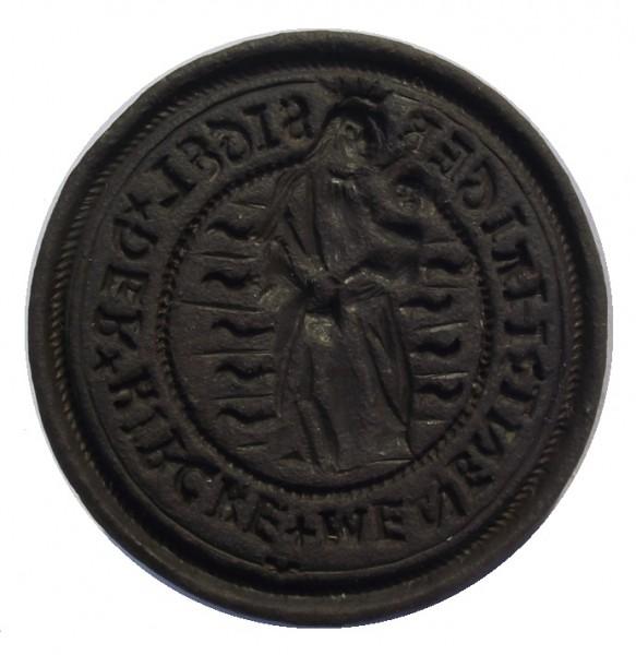 Siegel der Kirche Haiger, etwa 16./17Jh.