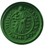 Siegel der Kirche Haiger, etwa 16./17Jh., Abdruck