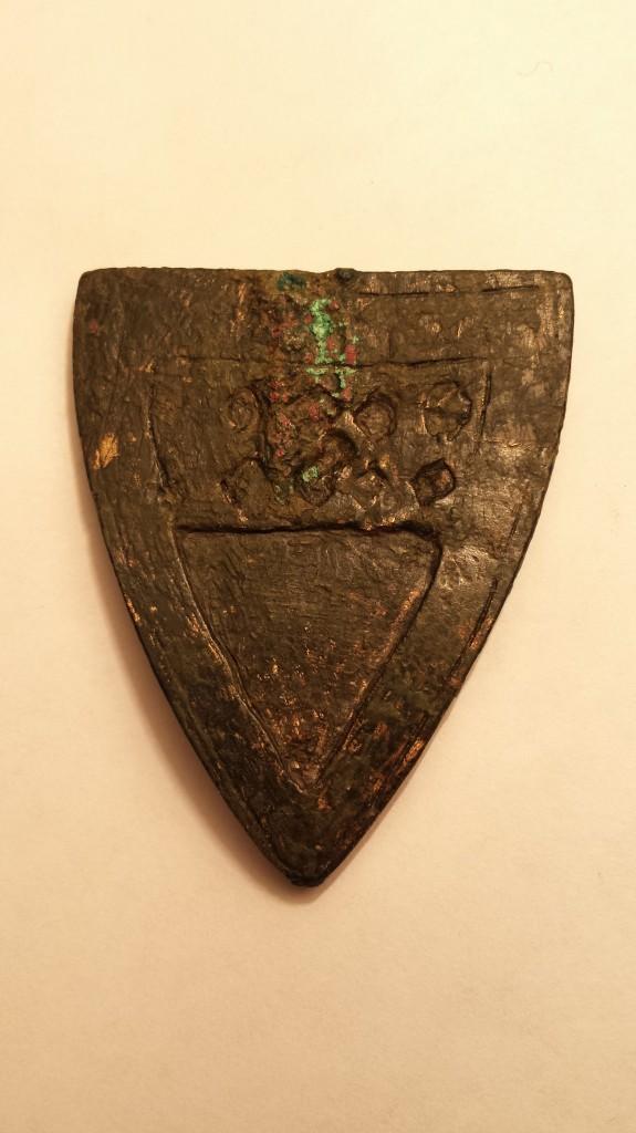 Petschaft des Ritters, Theodericus de Hohenberch, 13. Jh.