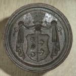Petschaft ohne Handhabe, Wappen der Familie von Maltzahn, ca. 1800/1850