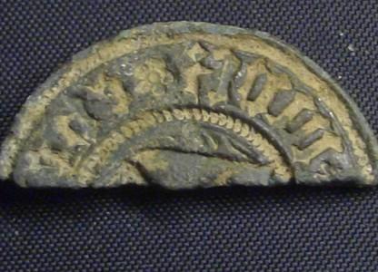 Fragment eines mittelalterlichen Petschaftes
