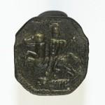 Siegelring aus Süddeutschland , um 1800, gespiegelt