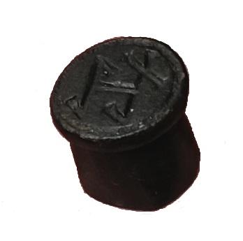 hülsenförmiges Siegel mit Hausmarke, norddeutsch