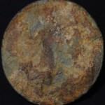 neuzeitliche Siegelfläche ohne Handhabe, etwa 18./19.Jh.