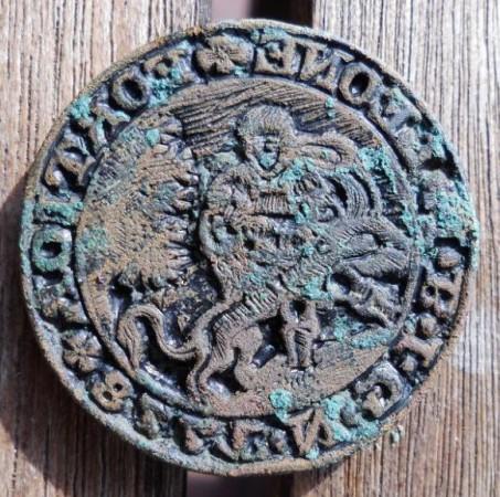 datierter Stempel ohne Handhabe von 1778