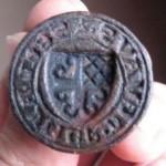 Petschaft mit Wappen, um 1450