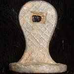 neuzeitliches Petschaft, wohl 19.Jh., Pferd und Initialen