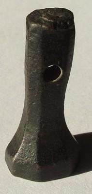 Petschaft mit 8eckiger Siegelfläche und floralem Motiv ca. 17.Jh.