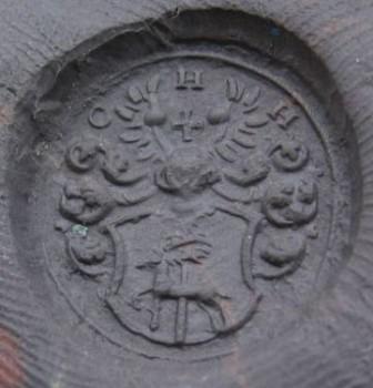 neuzeitliches Petschaft, Hirsch im Wappen, um 1800