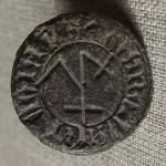 mittelalterliche Petschaft mit Hausmarke vor 1450