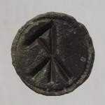 mittelalterliches Petschaft mit Hausmarke ohne Umschrift