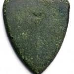 schildförmiges Siegel, vermutlich Adelsgeschlecht VON BONSTETTEN