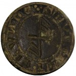 mittelalterliches Petschaft mit Hausmarke aus Rostock, gespiegelt