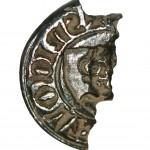 """mittelalterliches Petschaft, etwa 13./14.Jh. """"S' Nicola(i) ..."""