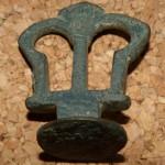 ungewöhnliche Handhabe ohne Siegelplatte , neuzeitlich, (erinnert an Zapfhahn-Griff)