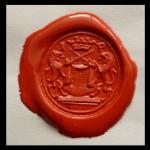 neuzeitliches Petschaft eines Kürschners um 1800