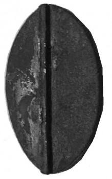 Siegel des Benediktinerabtes Jodocus Rosa, 16.Jh.
