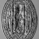 Petschaft des Benediktinerabtes Jodocus Rosa , 16.Jh.