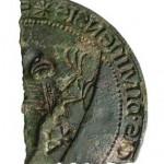 zerschlagenes Siegel des pommerschen Herzogs Wartislaw III