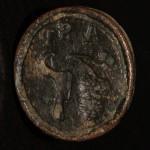 neuzeitliches Petschaft eines Winzers um 1800