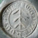 Petschaft mit Hausmarke, 14./15.Jh., Abdruck