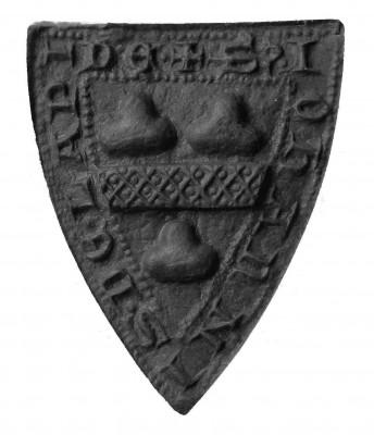 Abdruck, Petschaft des Johannis de Lapide, 13./14.Jh.