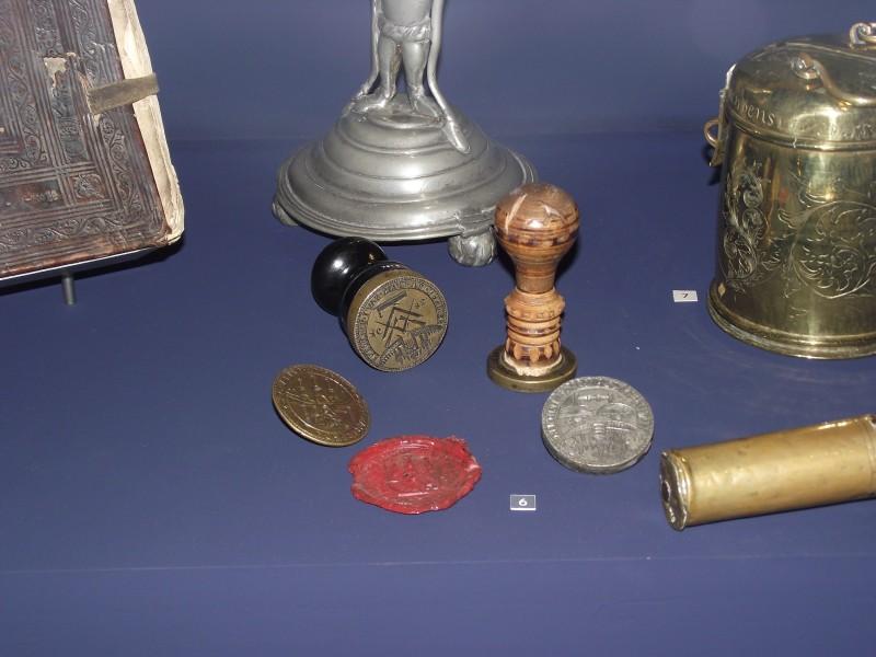 Randers / DK 4 Petschafte von 1683, 1686, 1688 und 1739
