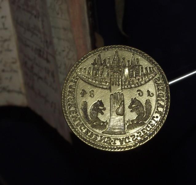 Randers / DK Petschaft von 1684