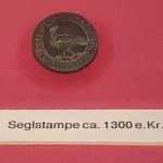 Einzel-Petschaft um 1300 aus dem Museum in Grenaa / DK