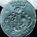 Petschaft mit vierteiligem Wappen, 2 Hälfte 18. Jh.